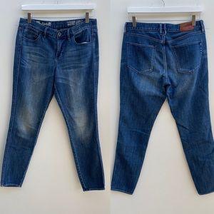 Madewell | Medium Wash Skinny Ankle Jeans 29